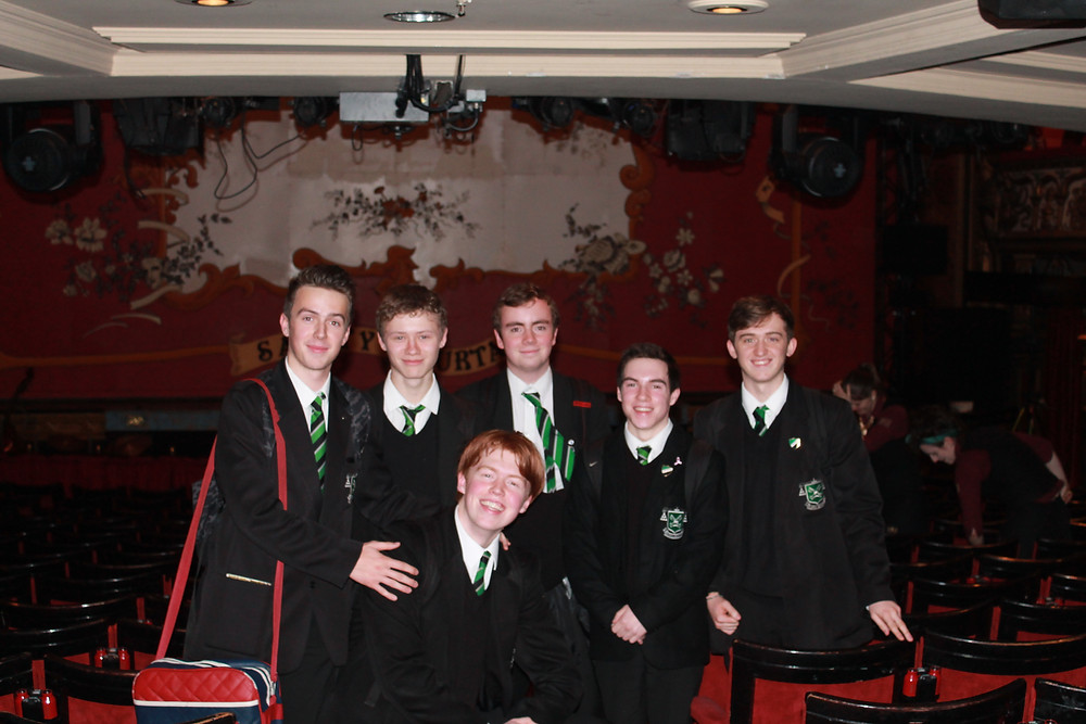 Year 13 Drama Students at The GOH.JPG
