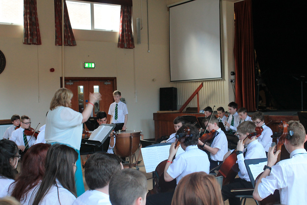 Training Orchestra at the Junior Concert.JPG