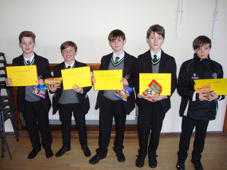 Year 8 Man of the Month for November