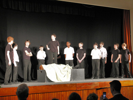 Et tu, Brute? Year 8 and 9 Students Perform Shakespeare Classic to a packed College Hall