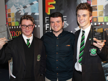 St Malachy's Students Steal the Show for the Fourth Year in a Row at the 2014 CCEA Moving Image Arts