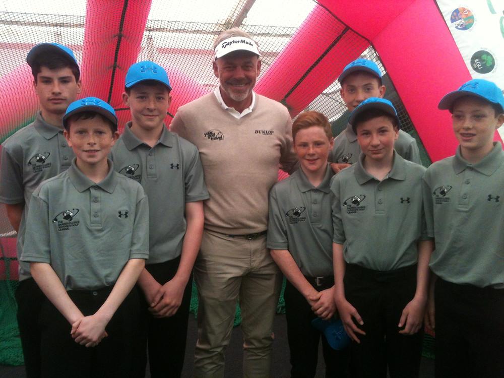 Junior Golfers with Darren Clarke.JPG