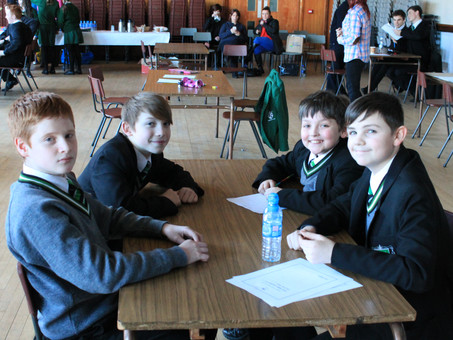 St Malachy's College host local heats in Credit Unions of Ireland School Quiz