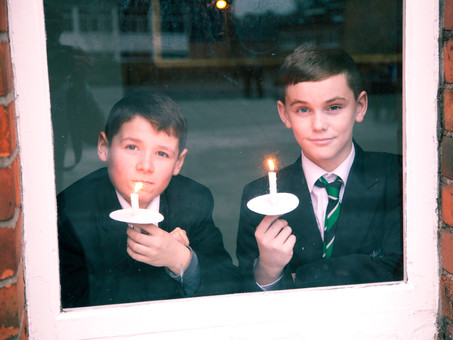 Year 8 Candlelight Vigil to 'Shine a Light' on Poverty and Homelessness