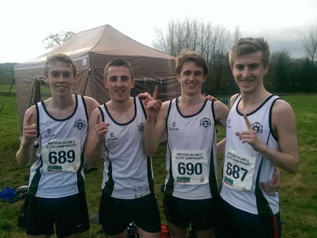 College Athletes secure the Ulster U19 Cross Country Title!