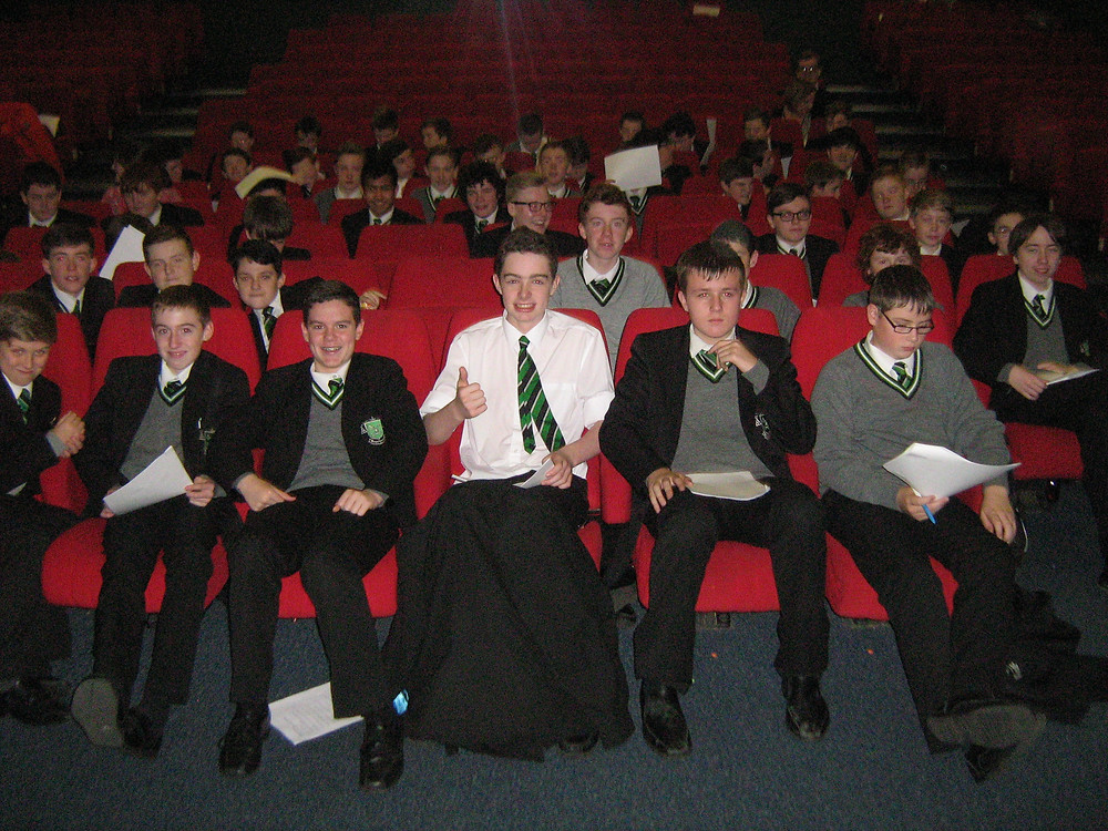 Year 10s become film critics for the day.JPG