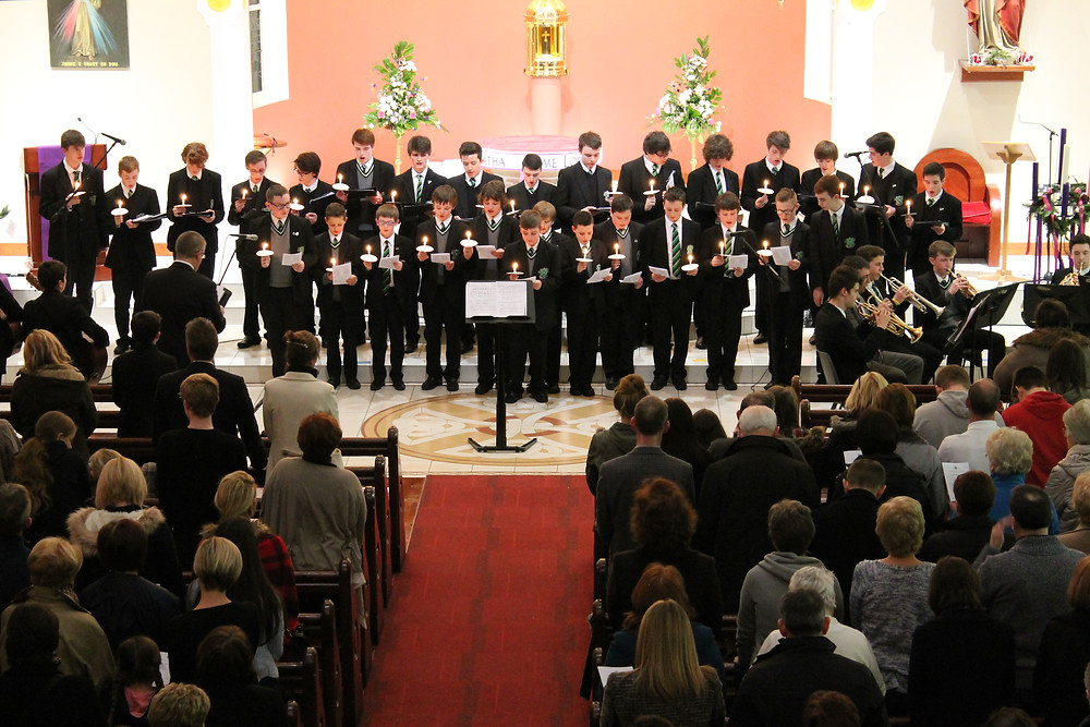 Choir performing at the Christmas Concert.JPG