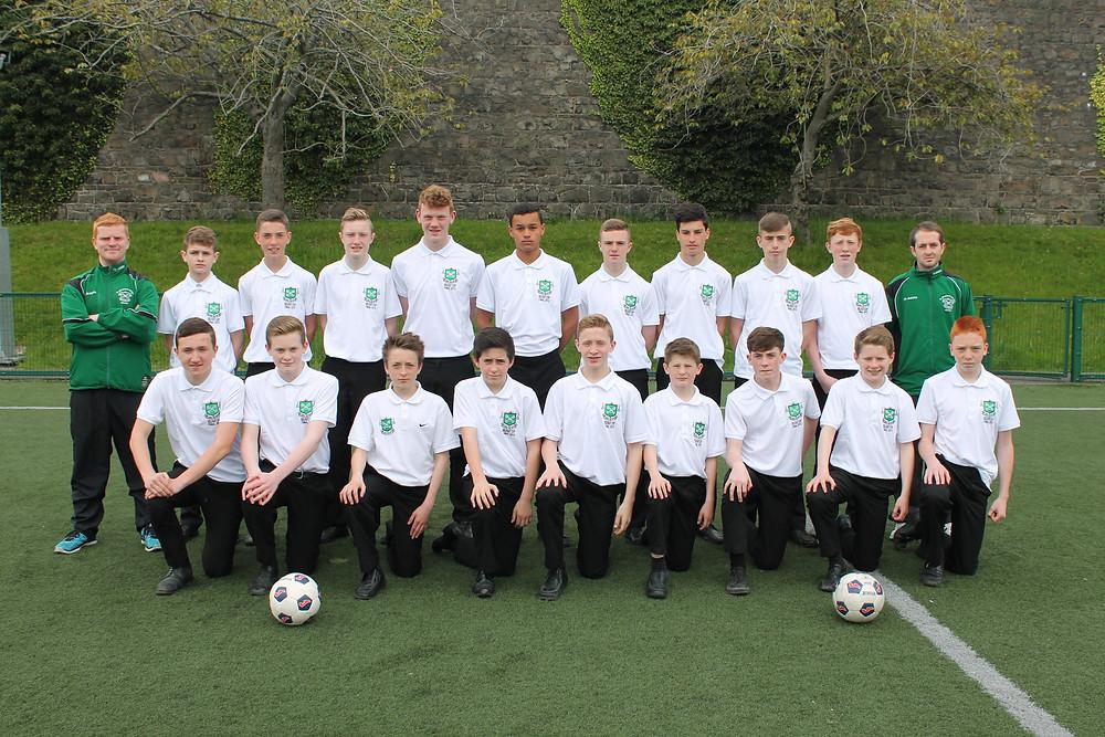 Year 10 Belfast Cup winning side.JPG