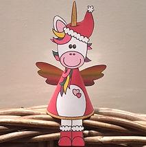 Voorbeeld Kerst eenhoorn DIY