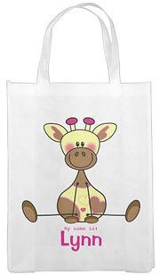 Tas met girafje en je eigen nam