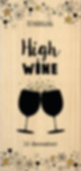 Uitnodiging high wine