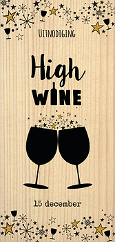 Uitnodiging high wine