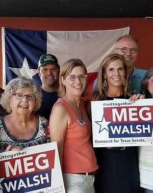 Meg Walsh forTexas Senate