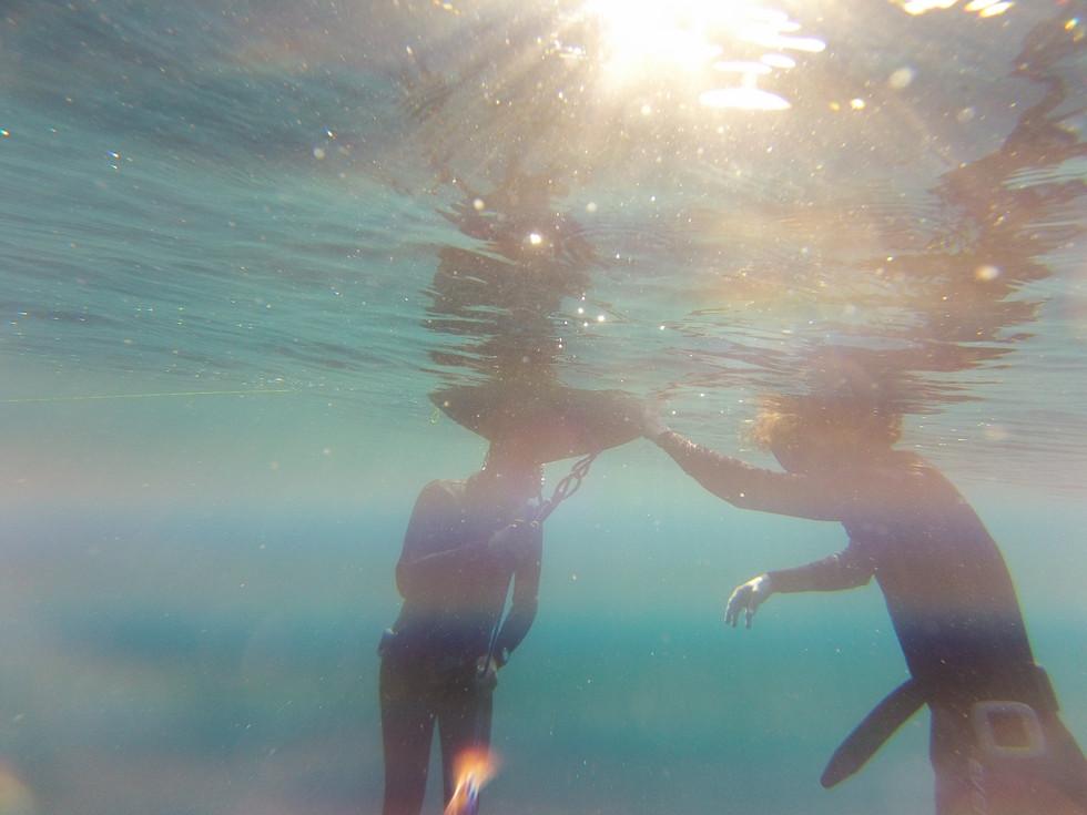 Sunset Freediving in Ibiza