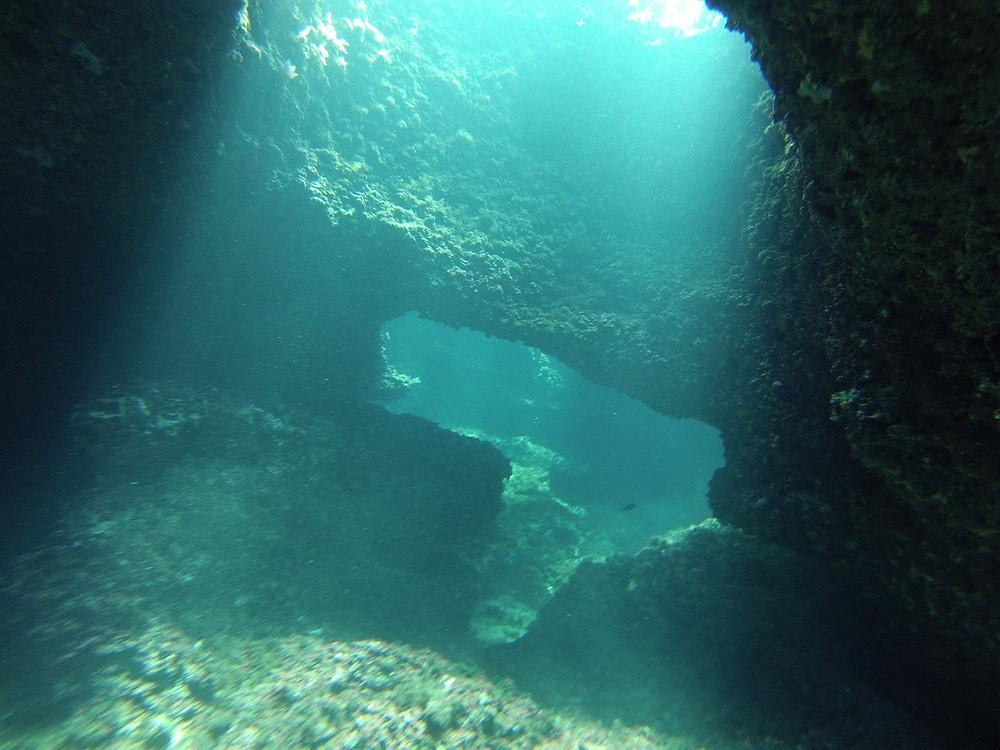 underwater lava holes Ibiza