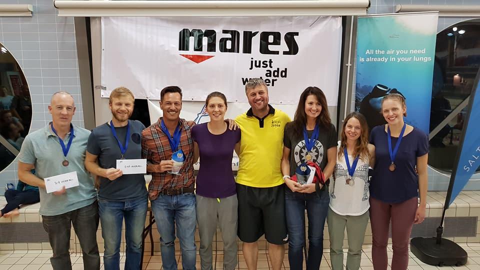 Winners and organisers Bristol Blue comp