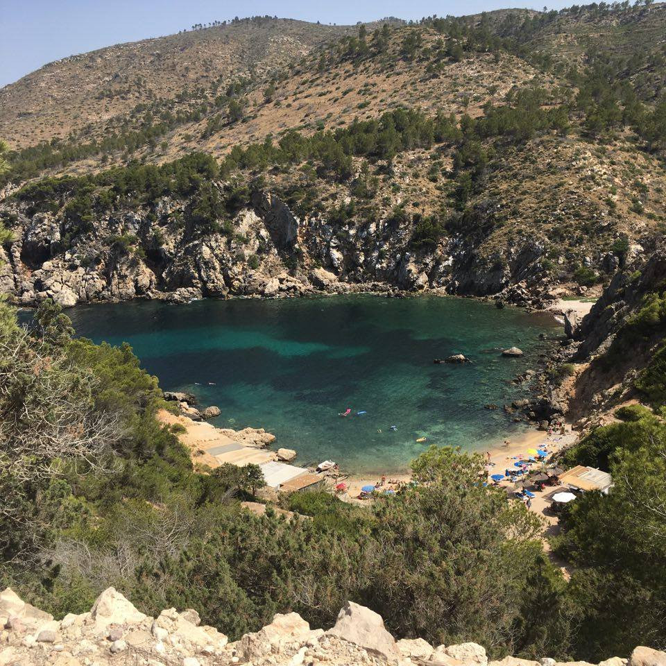 Secret beaches in Ibiza, and sailing and freediving in Formentera