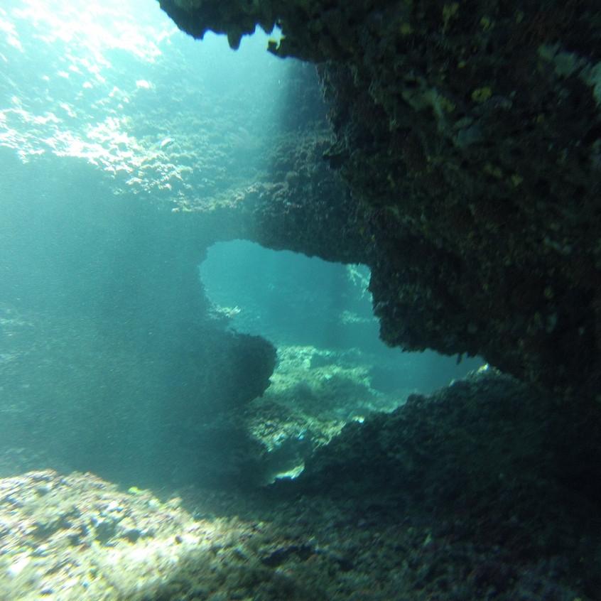 underwater caves ibiza