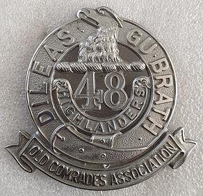 48th Highlandersd Old Comrades Associati