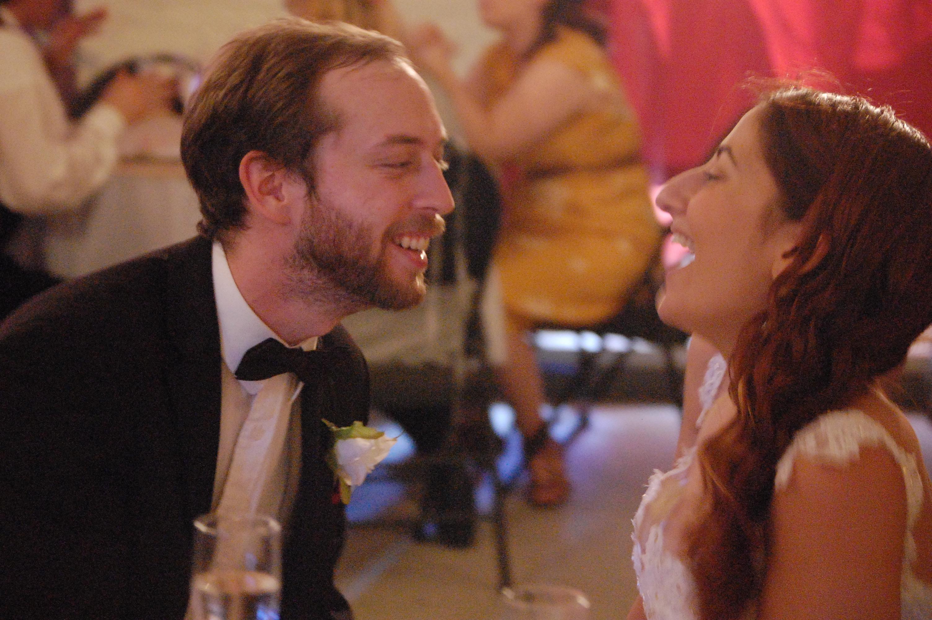 Peter & Angelica Smiling (Bride & Groom)