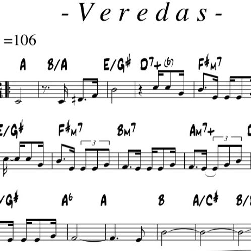 Veredas - Lead Sheet