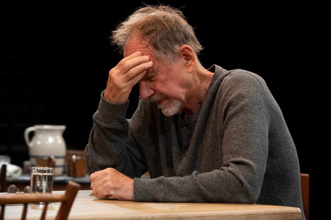 Jon DeVries in the New York premiere of Uncle Vanya, translated by Richard Nelson, Richard Pevear and Larissa Volokhonsky, and directed Nelson, running through October 14 at The Hunter Theater Project.  Photo credit: Joan Marcus