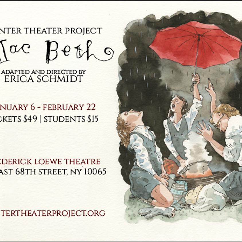 Mac Beth directed by Erica Schmidt