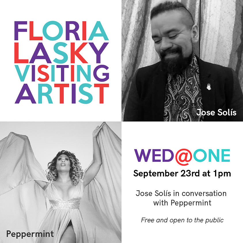 Wed@One: Jose Solís & Peppermint