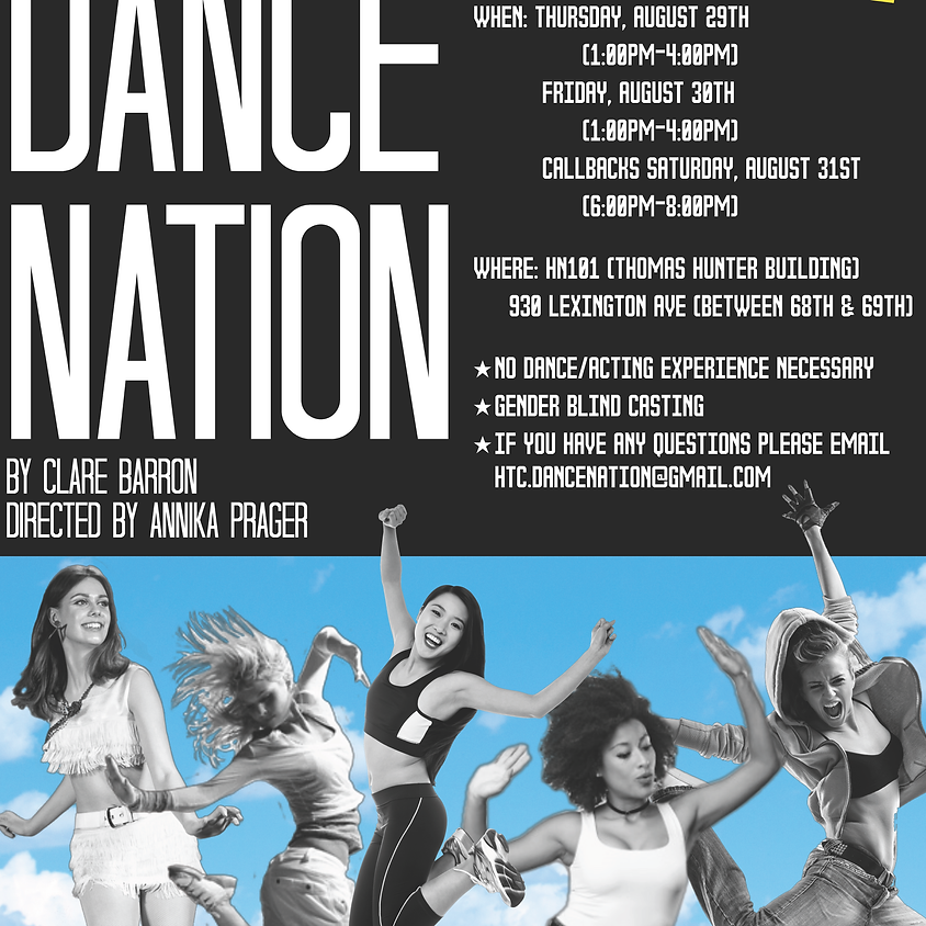 Auditions | Club Show | Dance Nation