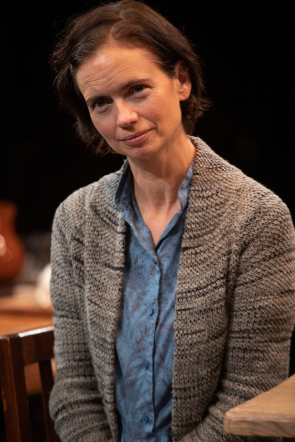 Yvonne Woods in the New York premiere of Uncle Vanya, translated by Richard Nelson, Richard Pevear and Larissa Volokhonsky, and directed Nelson, running through October 14 at The Hunter Theater Project.  Photo credit: Joan Marcus