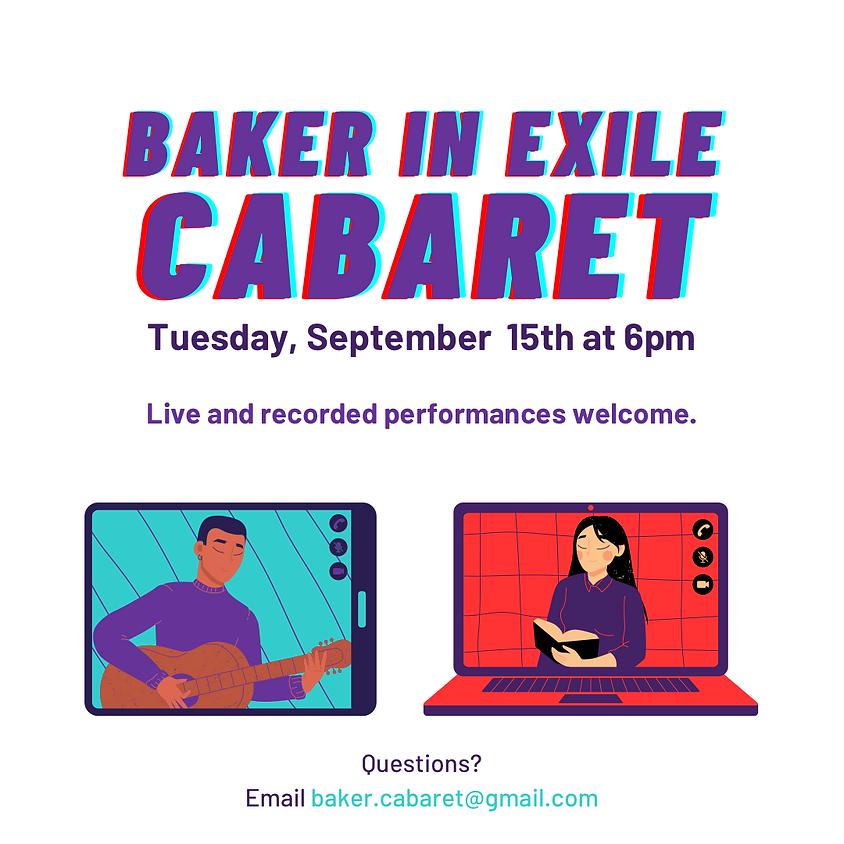 Baker in Exile Cabaret