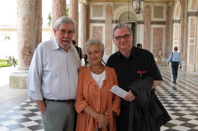 Richard Pevear, Larissa Volokhonsky and Richard Nelson.