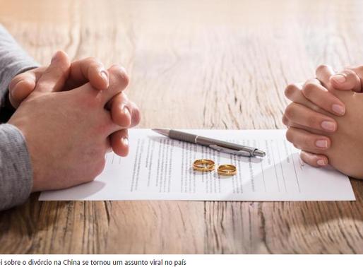 """Casais terão """"um mês para reflexão"""" antes de iniciar processo de divórcio na China"""