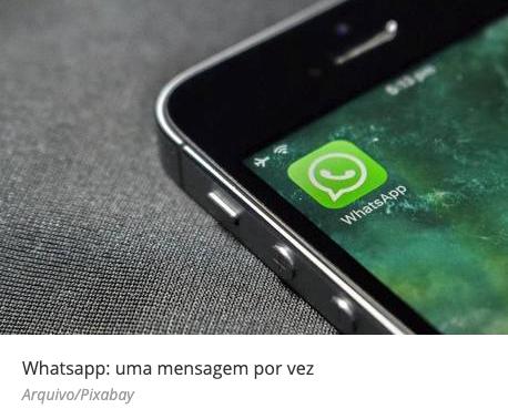 WhatsApp limita o encaminhamento de mensagens a uma por vez