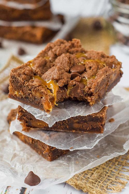 1dz Caramel Brownies