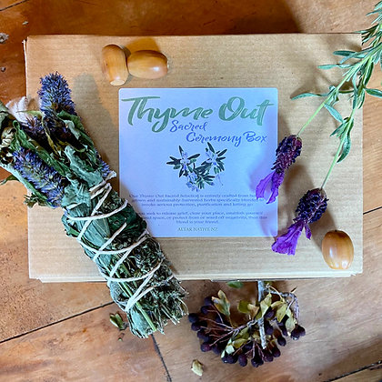 MIND - Thyme Out Sacred Ceremony Box