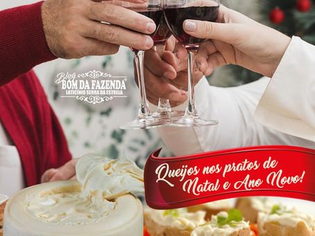 O Bom da Fazenda te ensina a como usar queijos nos pratos de Natal e Ano Novo!