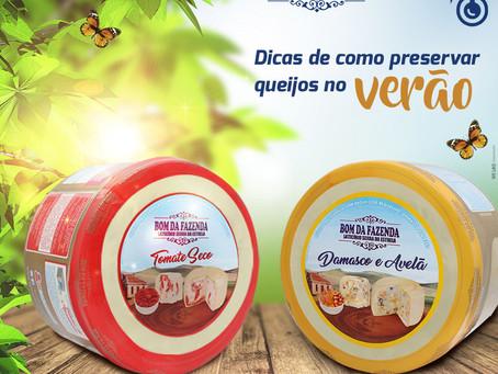 Tudo o que você precisa saber para conservar queijos no verão!