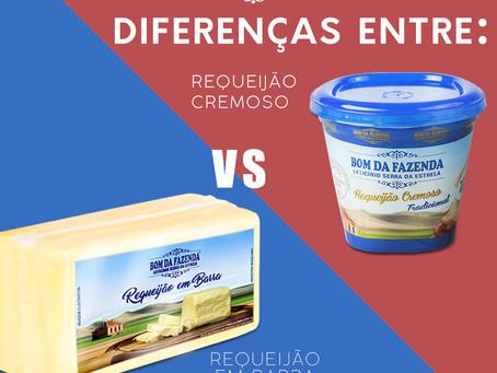 Requeijão Cremoso X Requeijão em Barra: Saiba a diferença!