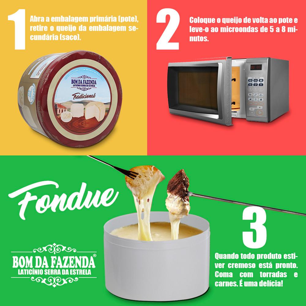 Siga o passo a passo para fazer um delicioso fondue.