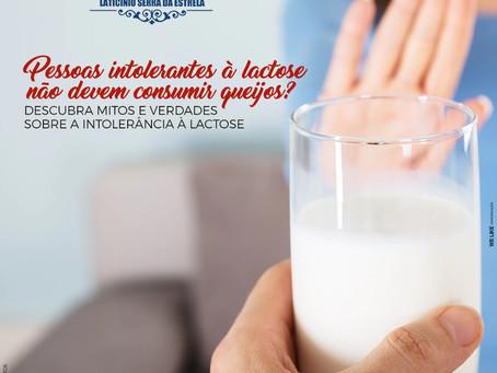 Pessoas intolerantes à lactose não devem consumir queijos?