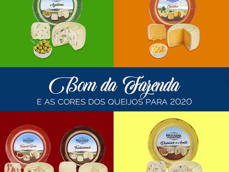 Significado das cores dos queijos para o Ano Novo de 2020