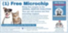 Voucher Free Microchip ARC Lost Pet Serv