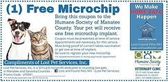 Free Microchip Voucher Lost Pet Services