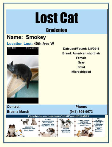 Have you seen Smokey?