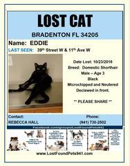 Have you seen Eddie?