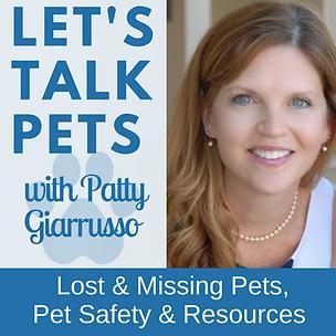Let's Talk Pets Patty Giarrusso logo.png