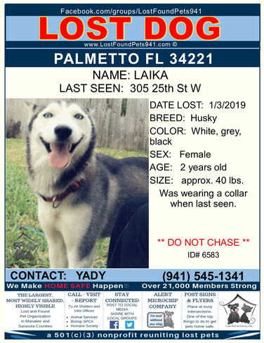 Have you seen Laika?