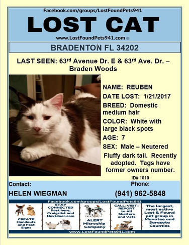 Have you seen Reuben?