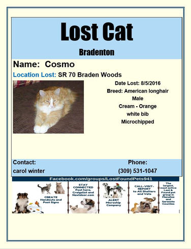 Have you seen Cosmo?